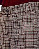 Caramelo, Pantaloni a quadri con doppia pence, Donna