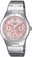 Casio Collection LTP-2069D-4AVEF Orologio da Donna, Cinturino in Acciaio Inox