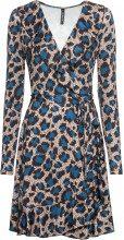 Abito a portafoglio leopardato