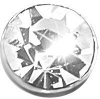 Nasino in argento 925 rodiato per Unisex