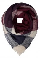 Even&Odd Foulard dark blue/bordeaux/nude