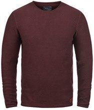 BLEND Gabor - Maglione da Uomo, taglia:S, colore:Wine Red (73812)