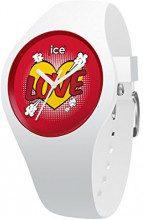 Ice-Watch - ICE love Heart - Reloj bianco para Niña con Correa de silicona - 015267 (Small)