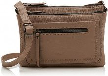 Tom Tailor 24018, Borsa a tracolla Donna, Beige (Beige (taupe 21)), 3x17x23 cm (B x H x T)