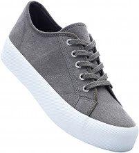 Sneaker con plateau