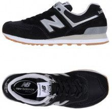 NEW BALANCE 574 SUEDE - NYLON BRIGHT - CALZATURE - Sneakers & Tennis shoes basse - su YOOX.com