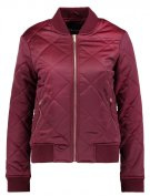 DIAMOND - Giubbotto Bomber - dark burgundy
