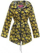 SS7 -  Giacca impermeabile - Parka - Donna Yellow Navy 44