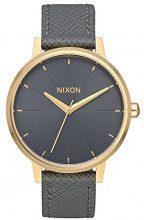 Nixon Orologio Analogico Quarzo da Donna con Cinturino in Pelle A108-2815-00