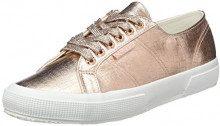 Superga 2750-COTMETEMBOSSEDCOCCOW, Sneaker Donna, Rose Gold, 38 EU