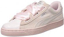 Puma Suede Heart Bubble Wn's, Scarpe da Ginnastica Basse Donna, Rosa Pearl, 38.5 EU