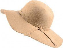 Urban GoCo Donne Ragazza Cappello di Lana Tesa Larga in Feltro Bombetta Fedora Cappello Floscio Cloche (Cammello)