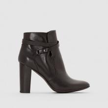 Boots pelle cinturini incrociati