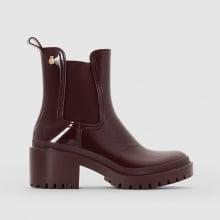 Boots della pioggia con tacco Aiko