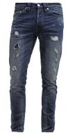 ONSWEFT - Jeans a sigaretta - dark blue denim