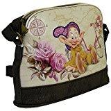 Disney I Sette Nani Cucciolo Travel Borsa da Donna Ragazza Bauletto Bowling Bugatti