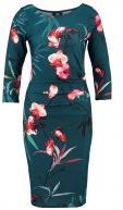 ORIENTAL ROUCHE - Vestito di maglina - teal