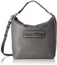Marc O'Polo Retro One - Borse a spalla Donna, Grau (Ferro), 10x37x40 cm (B x H T)