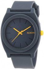 Nixon Orologio Unisex Analogico al Quarzo con Cinturino in Acciaio – Nixon Time Teller P