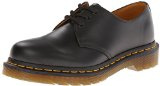 Dr. Martens 1461Z Smooth Cherry Scarpe Basse Stringate, Unisex Adulto, Nero (Black Smooth Z Welt), 48