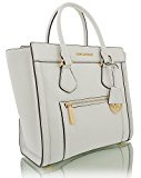 Michael Kors, Borsa a mano donna Bianco Off White