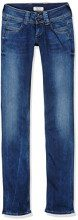 Pepe Jeans Venus Jeans Straight Donna, Blu (Denim 10Oz Rinse Plus M15) 30W / 34L