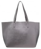 Shopping bag - gunmetal