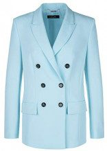 Marc Cain Collections Jacken, Cappotto Donna, Blau (Spa 339), 44