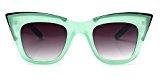 Da donna Square Framed alato Retro occhiali da sole disponibile in una selezione di colori