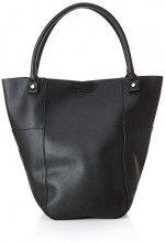 PIECES Pcdanni Shopper - Borse a spalla Donna, Nero (Black), 12x40x30 cm (B x H T)