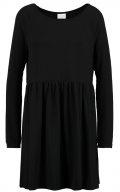 VIKITTA - Vestito di maglina - black