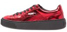 BASKET - Sneakers basse - high risk red