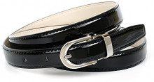 Anthoni Crown A13C00L, Cintura Donna, Nero (Schwarz 010), 105 cm