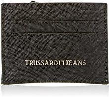 Trussardi Jeans 75w00041-1y090122, Porta Carte di Credito Donna, Nero, 11x8x2 cm (W x H x L)
