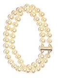 Bijoux pour tous - Braccialetto, Perla, Argento Sterling 925