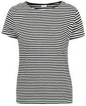 JACQUELINE de YONG by Only AVA - T-Shirt da Donna Taglia:S Colore:Cloud Dancer/Black Stripes