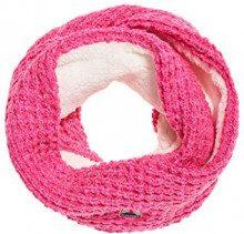 Superdry CLARRIE Stitch Snood, Pashmina Donna, Rosa (Fluro Pink 28r), One Size (Taglia produttore:OS)
