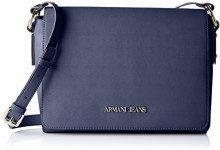 Armani Jeans 922578cc864, Borsa Donna, Blu (LIGHT BLU 13131), 8x20x28 cm