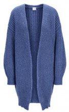 Cardigan oversize in misto lana
