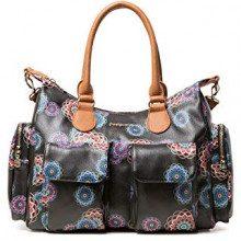 Desigual Bag Mandri London Women - Borse a spalla Donna, Nero (Negro), 15.5x25.5x32 cm (B x H T)