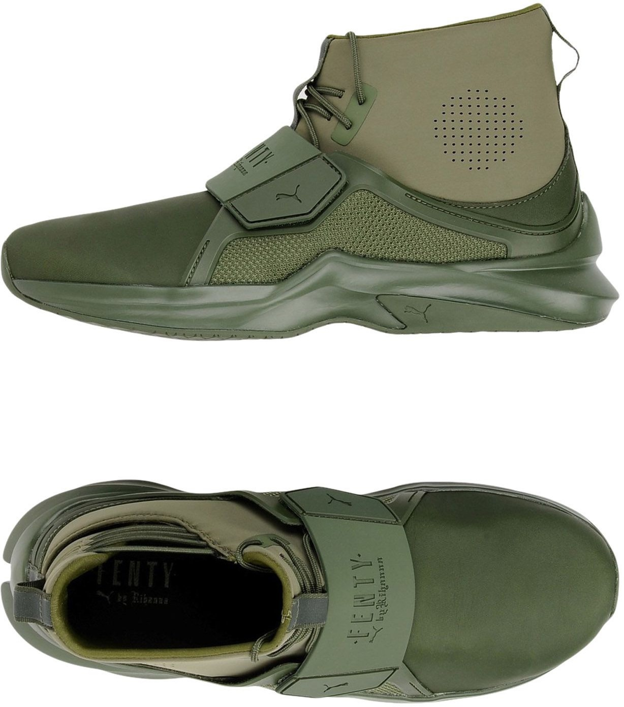 5009a16ee FENTY PUMA by RIHANNA - CALZATURE - Sneakers & Tennis shoes alte ...