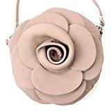 Italiana. Borsa da donna borsa a mano borsa a tracolla Girl City Borsa a tracolla a forma di fiore mini T128