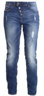 Jeans baggy - mid stone wash
