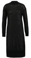 NMCROW - Vestito di maglia - black