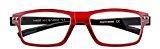 Occhiali da lettura con stanghette flessibili in diversi colori e gradazioni - Occhiali nerd - trasparenti - bicolori - astuccio compreso