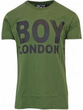 Boy London T-shirt Boy London Verde Oliva - MAGLIA JERSEY CON STAMPA DAVANTI - BL1029