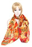 Accessorio da donna di Calonice Amorino Sciarpa con cavalli stampati Sciarpa alla moda scialle Taglia unica 160x0.1x75 cm (LxHxW) 29300