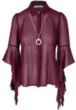 Rinascimento Camicia manica lunga Rinascimento Bordeaux - CAMICIA BACI MORELLATO - CFC0088081003