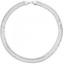 Canyon-girocollo.-C9884 925-42 cm, colore: argento