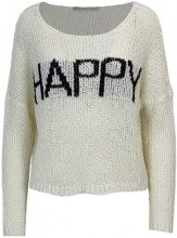 Only Maglione Only Panna - COSMO L/S PULLOVER KNT - 15163243